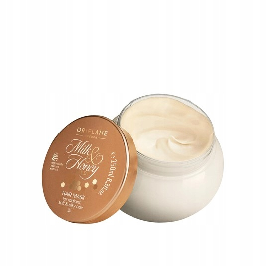 Maska do włosów Milk & Honey Gold Oriflame