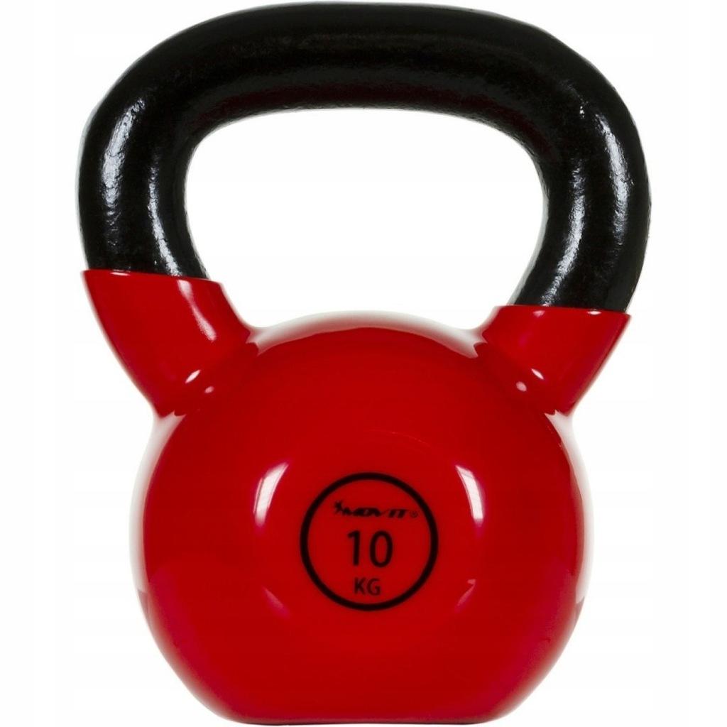 Profesjonalny żeliwny Kettlebell 10 kg