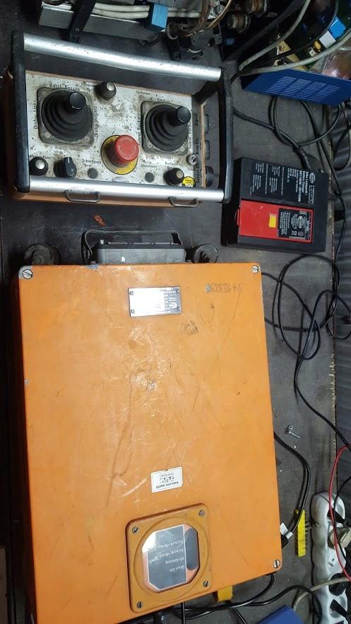 sterowanie radiowe HBC zasilanie 12-110 V