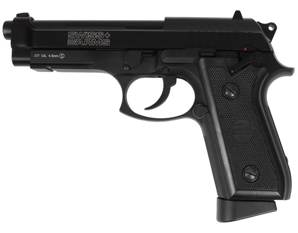 Wiatrówka CyberGun Swiss Arms GSG P92 Blow Back FM