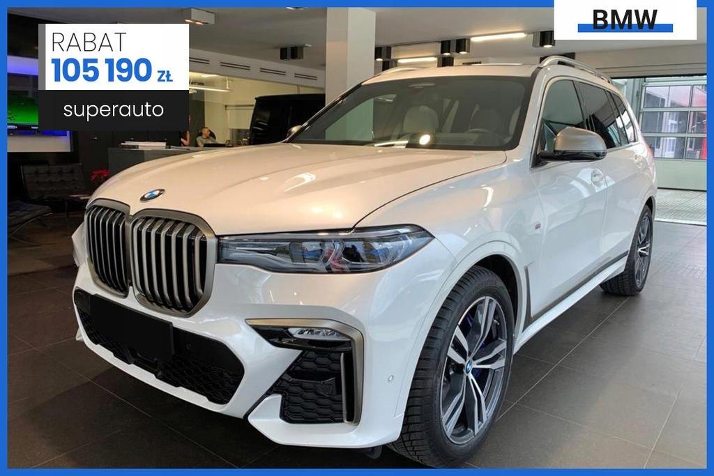 BMW X7 3.0 M50d (400KM)   Pakiet innowacji
