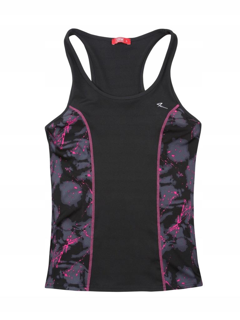 TXM T-shirt damski fitness sportowy L CZARNY