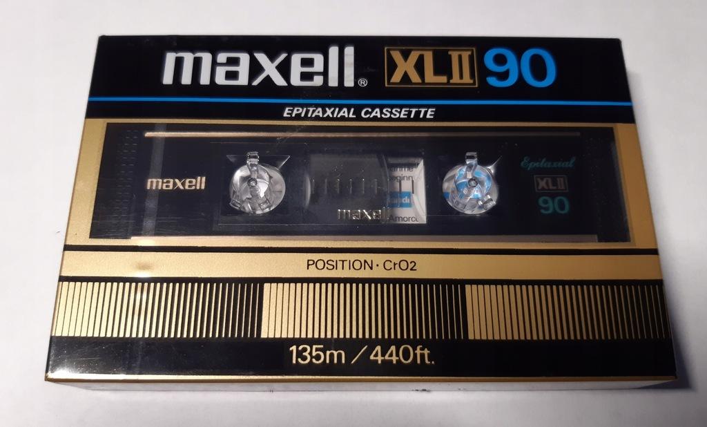 kaseta MAXELL XL II 90