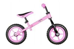 ART Rowerek biegowy Easy 12 cali Eva różowy