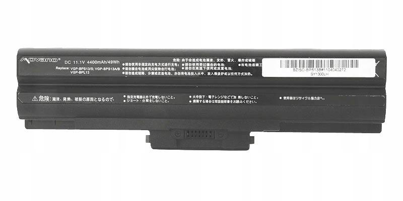 Bateria Movano Sony VGN-FW290JTB VGN-FW290JTH FV