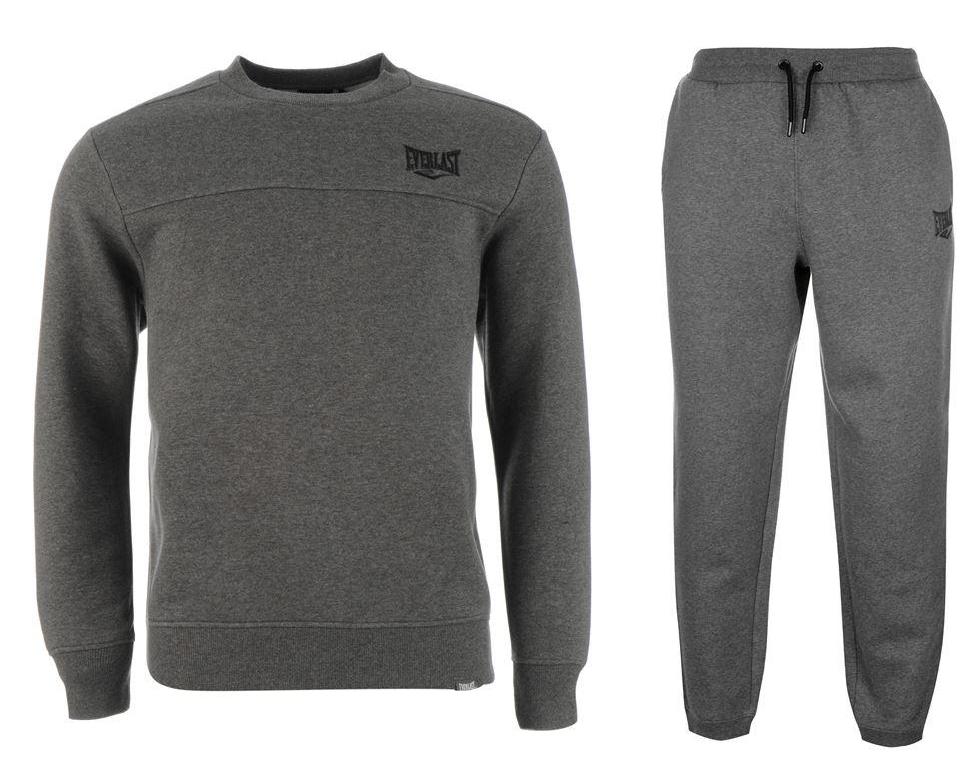 EVERLAST Dres Kompletny Spodnie+Bluza Bawełna tu S
