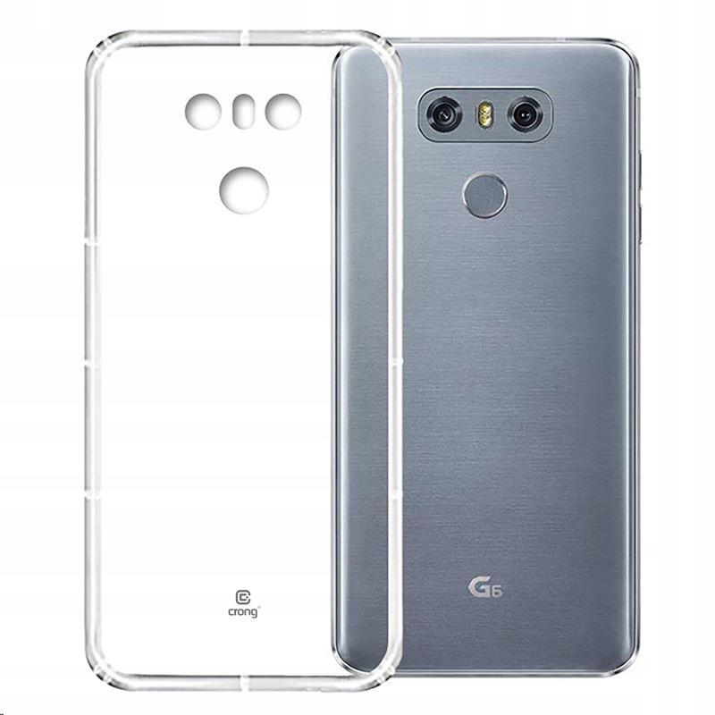 Crong Crystal Slim Cover - Etui LG G6 (przezroczys