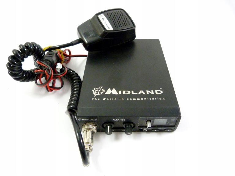 CB RADIO MIDLAND ALAN 102