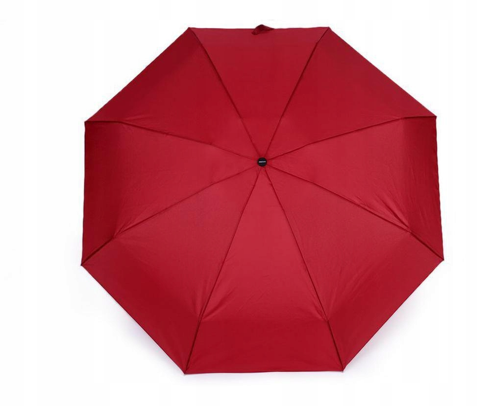 1szt czerwony mini składając parasol panie