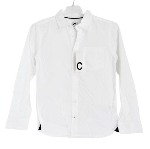 ŚWIETNA biała koszula 100%cotton CUBUS 152 wizytow