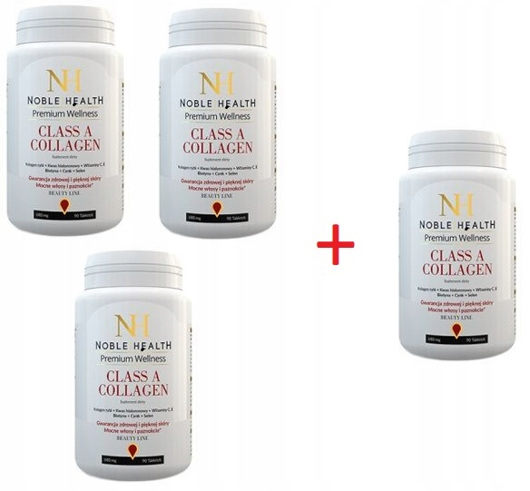Noble Health Collagen Class A Kolagen 90 30 Tabl 7048540458 Oficjalne Archiwum Allegro