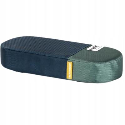 Poduszka na bagażnik rowerowy UP niebieska/zielona