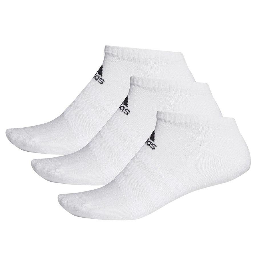 Skarpety adidas Cush Low 3PP DZ9384 biały 40-42