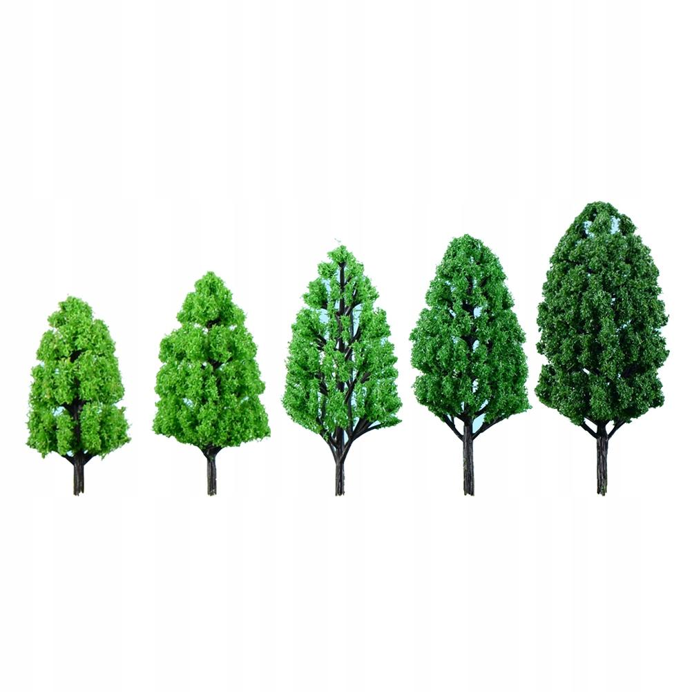 10 sztuk Realistyczny model krajobrazu Drzewa Symu