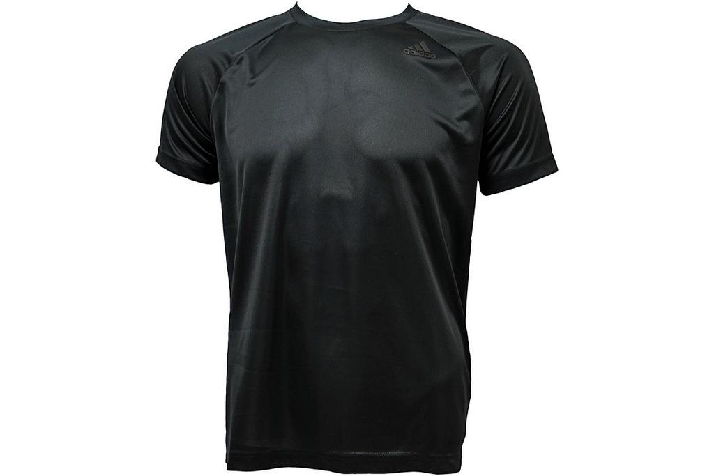 ADIDAS D2M TEE PL (L) Męski T-shirt