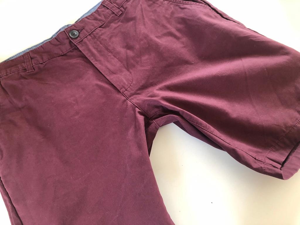 Spodnie capri bermudy 34 / L / 3372