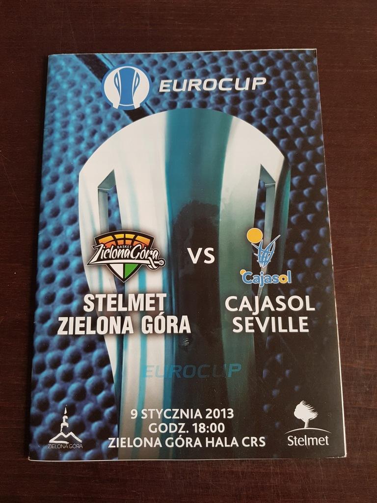 EUROCUP: STELMET ZG - CAJASOL SEVILLE