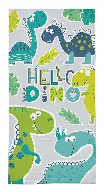 Ręcznik 70x140 Bawełna na Plażę Design 37 Dinozaur