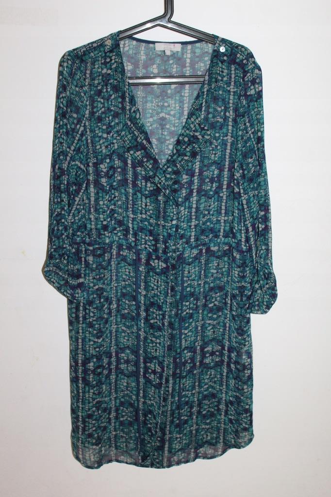 PER UNA M&S plażowa sukienka tunika zwiewna 44