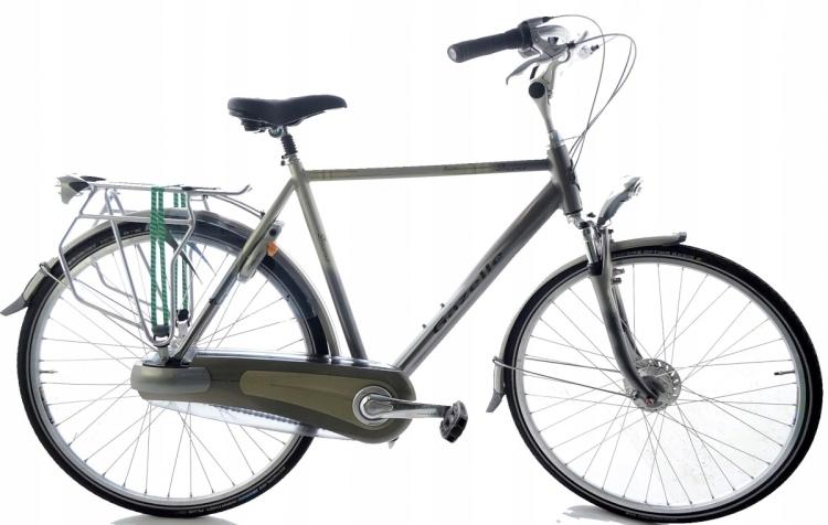 Rower Holenderski Męski Ładny Gazelle Davos Xtra