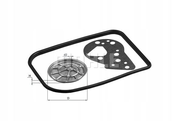 Filtr automatycznej skrzyni biegów KNECHT HX 82D