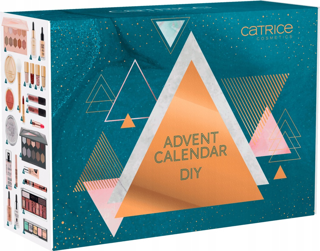 Catrice Diy Kalendarz Adwentowy Z Kosmetykami 2020 9706164747 Oficjalne Archiwum Allegro