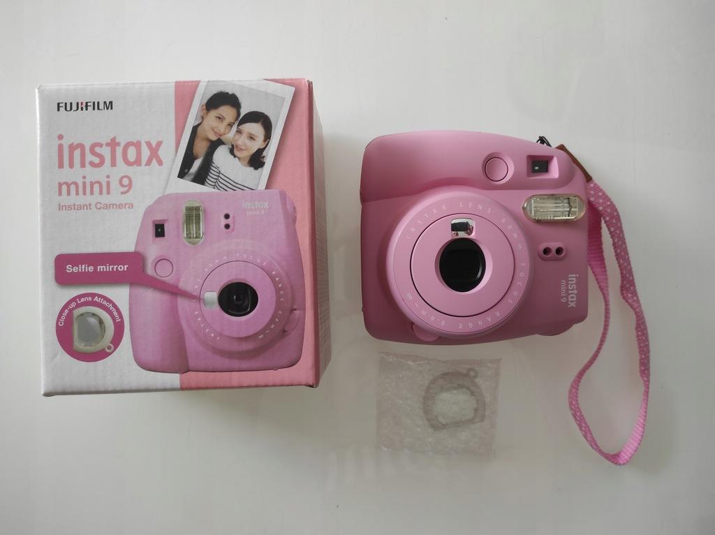 Aparat Fujifilm Instax Mini 9 różowy