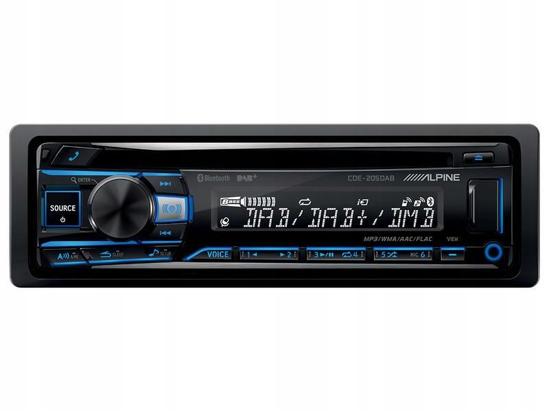 Radio Samochodowe Alpine Cde 205dab Cd Usb Bt Dab 7596564562 Oficjalne Archiwum Allegro