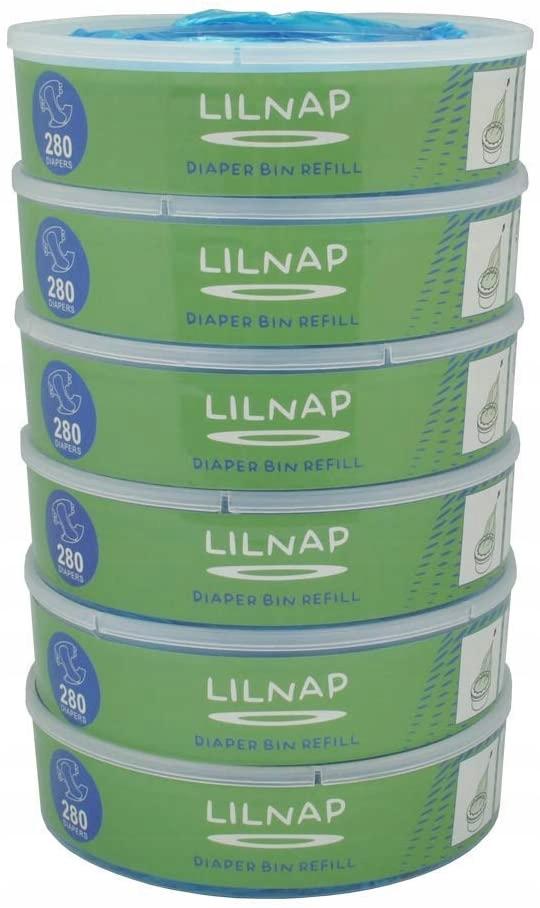 LILNAP kaseta na pieluchy 6 szt