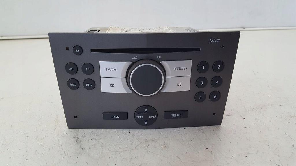 Radio 13190856 Opel Astra H