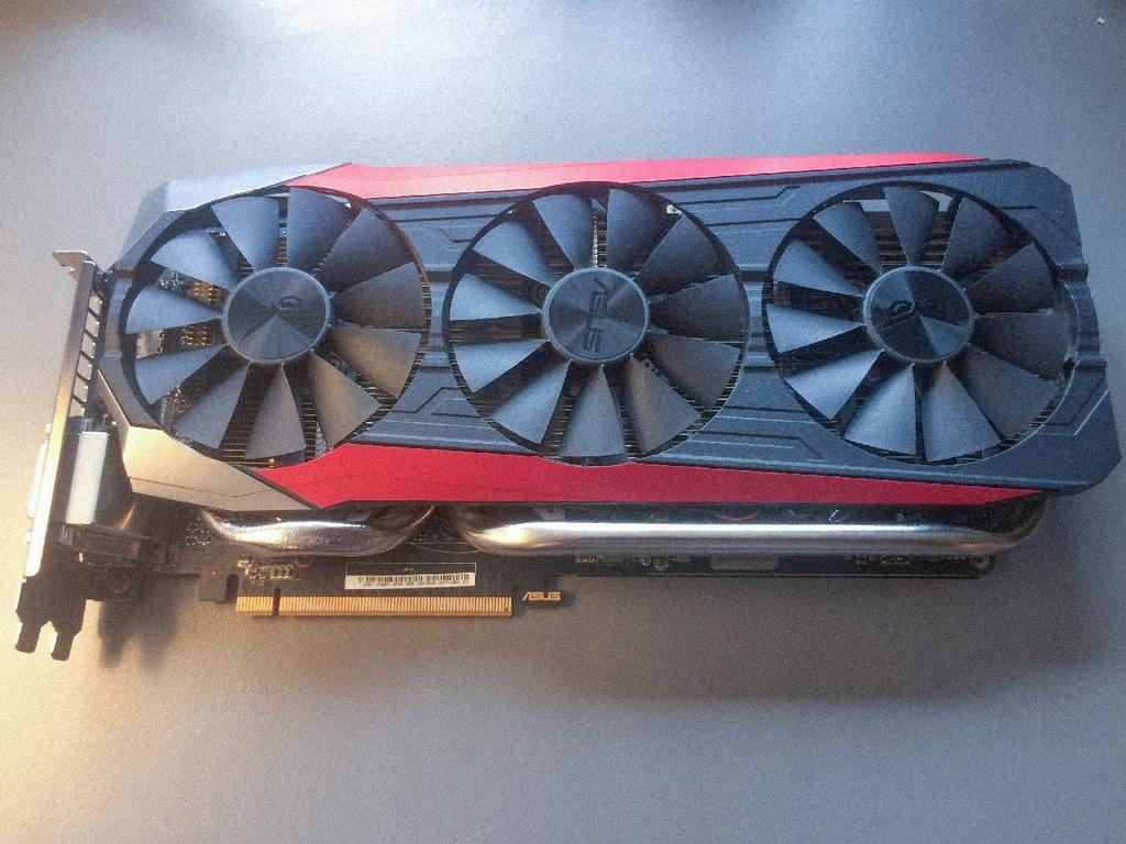 Asus Nvidia Geforce Gtx 980 Ti Strix Oc 6gb 7667745944 Oficjalne Archiwum Allegro