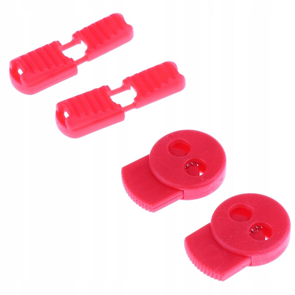 Sznurek sznurkowy - Czerwony