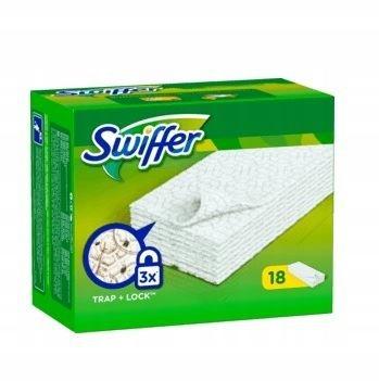 Swiffer ścierki na mopa suche 18 szt.
