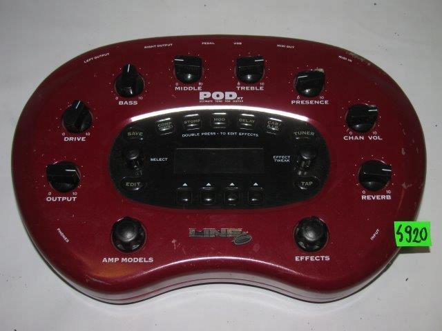 EFEKT LINE 6 POD XT - NR S920