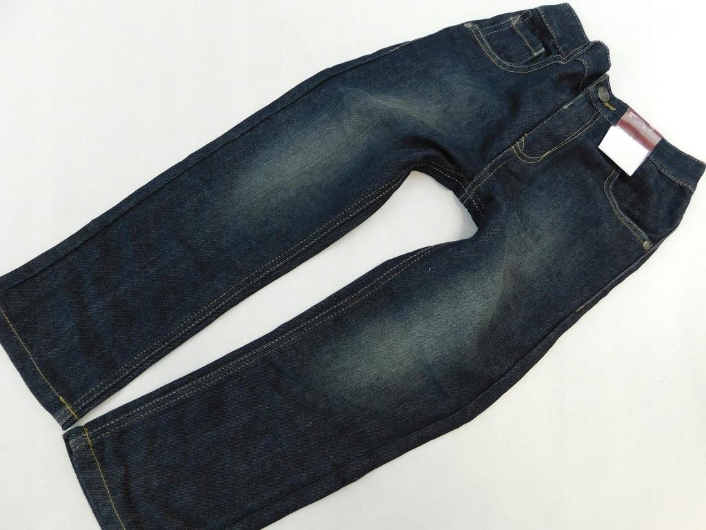 1811g24 GEORGE spodnie JEANSOWE 110-116CM