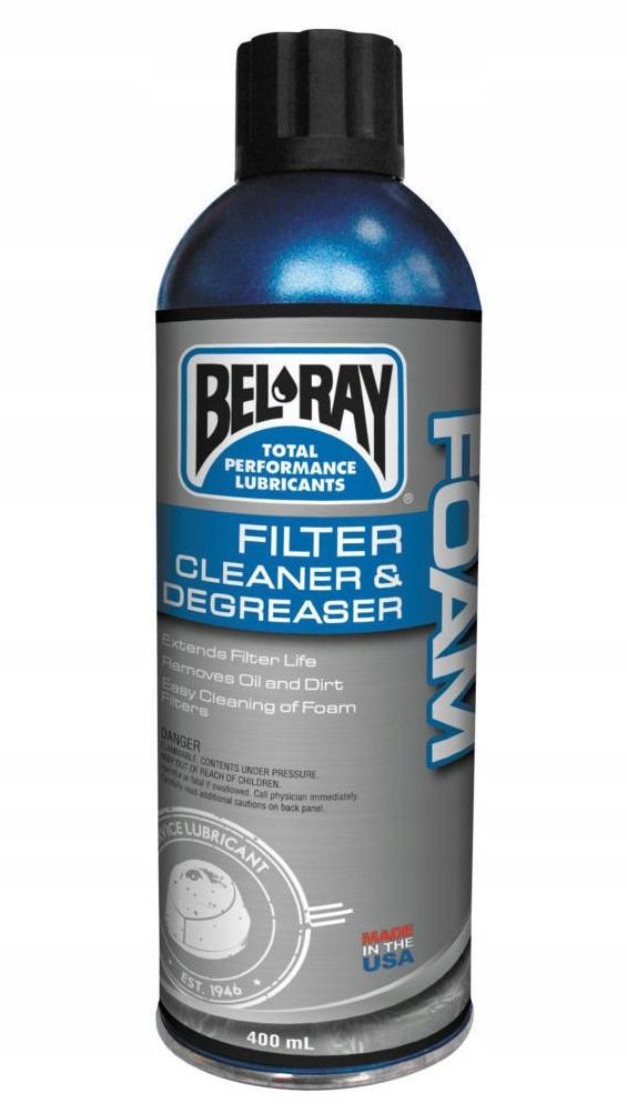 Płyn do czyszczenia filtrów powietrza BEL-RAY 0,4L