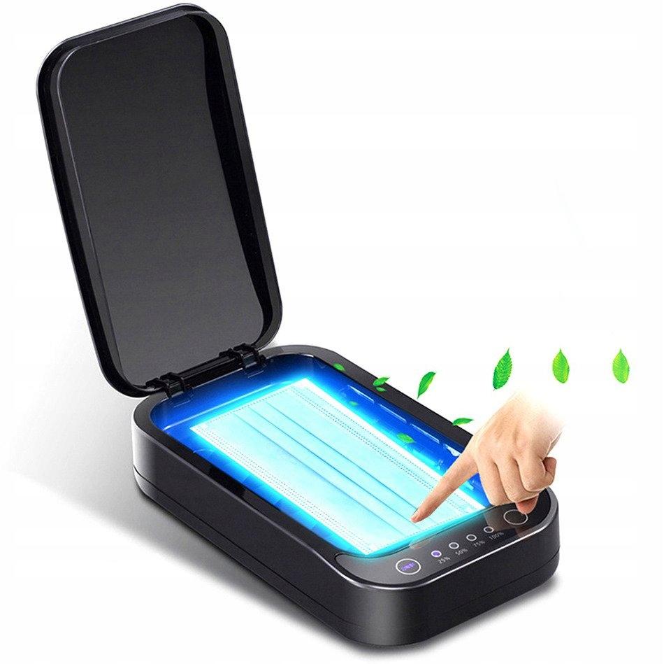 Certyfikowany Sterylizator UV A01 na USB Pudełko d