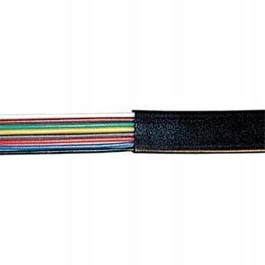 Kabel modularny 4-pin czarny zwój 10 m