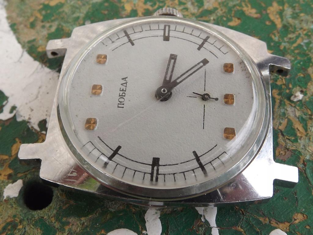 Pobieda szarak - stary zegarek