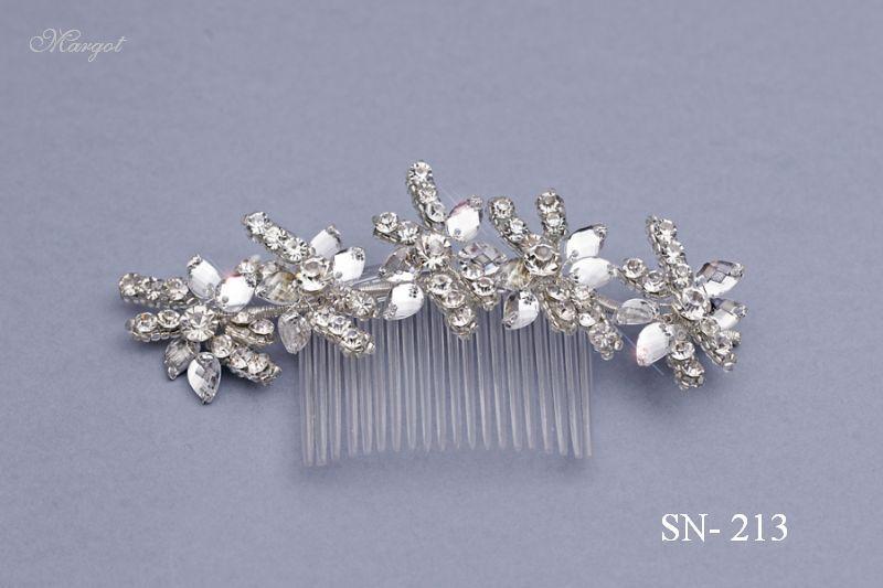 Stroik ślubny SN213 - fryzury ślubnej, głowę