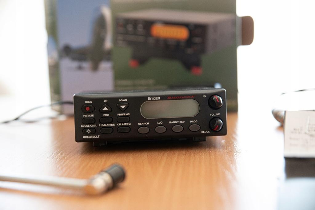 Skaner Nasłuchowy Uniden 355 + doskonała antena
