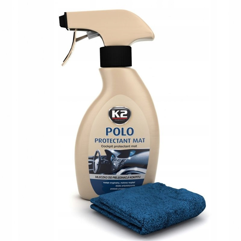 K2 POLO PROTECTANT MAT MLECZKO DO KOKPITU 250 ML