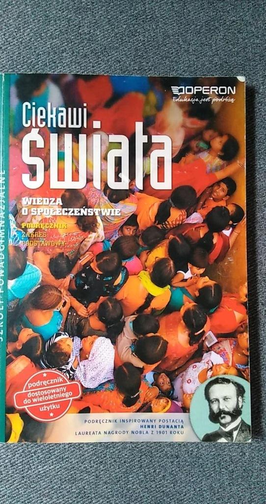 Ciekawi Świata Wiedza o społeczeństwie Podręcznik