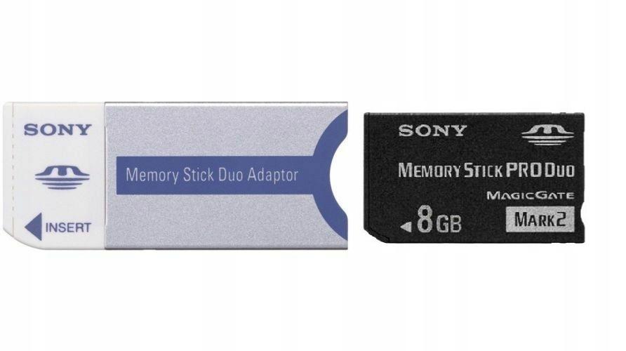 Memory Stick Pro Duo na MS DUO Adapter