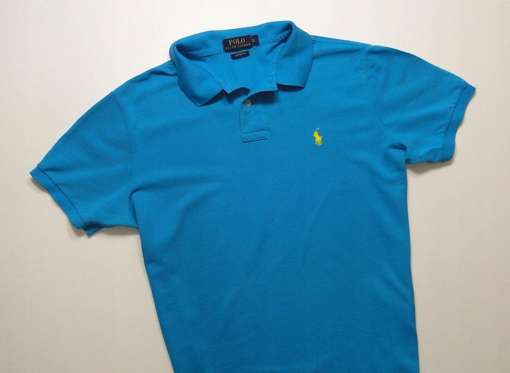 Koszulka Ralph Lauren Polo Custom Marine Blue