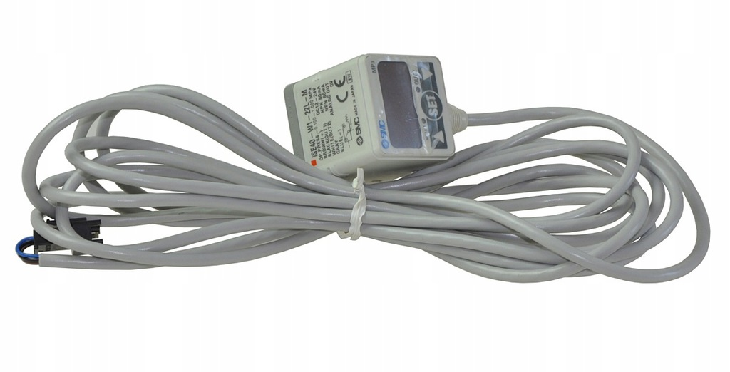ISE40-W1-22L-M SMC przetwornik ciśnienia -0,1-1MPa