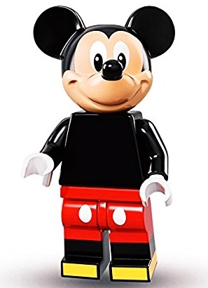 Lego Mickey Mouse minifigure from Disney Series 1