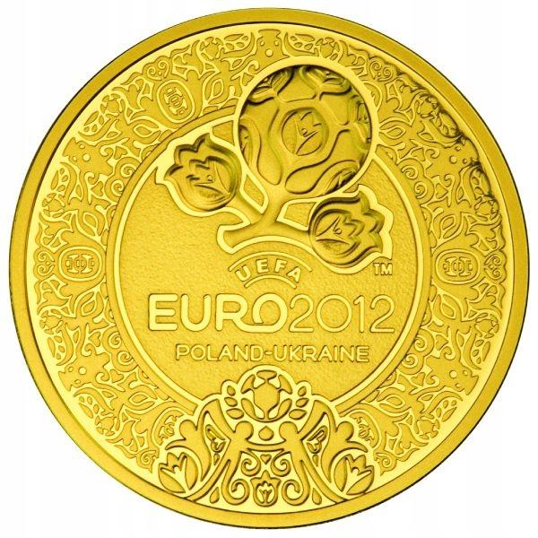 500 zł 2012 EURO UEFA 2 Oz. Au999 - 1000 nakład