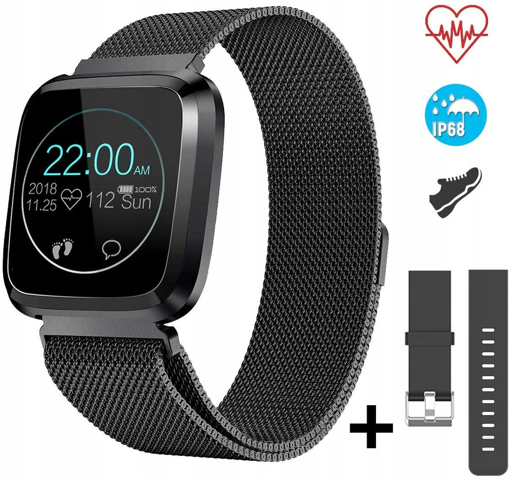 Opaska CatShin CS08 smart watch Bluetooth 4,0,IP68