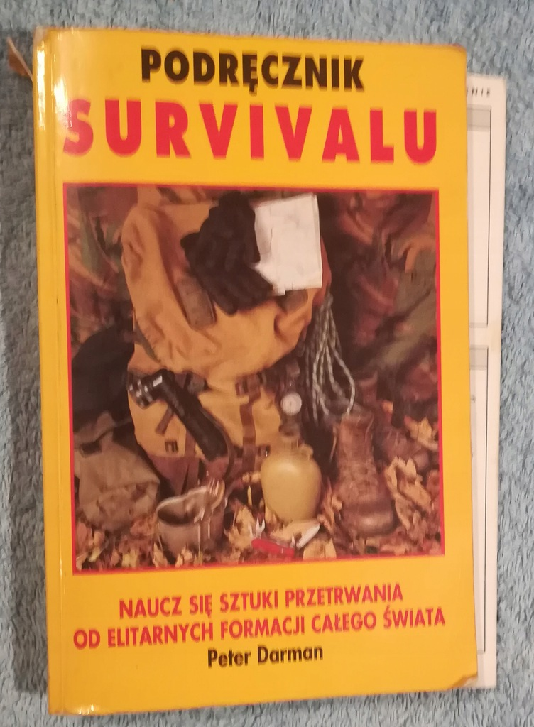 Podręcznik Survival Peter Darman